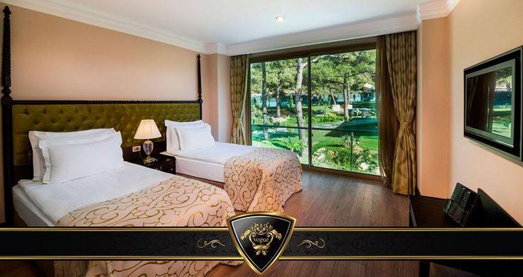 Bahçeli aile odalarımız / Garden Deluxe Family Rooms #Vogue #Hotels & #Resorts #Bodrum