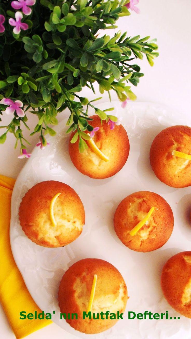 limonlu muffin, muffin tarifi, kolay mufffin, cupcake, limonlu tarifler, limonlu kek, topkek