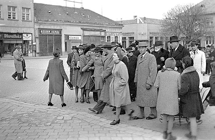 Profesor Cholnoky Nové Zámky 1938