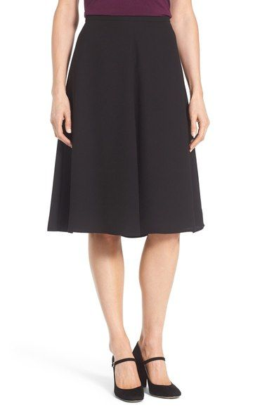 Vince Camuto Flare A-Line Skirt (Regular & Petite) available at #Nordstrom