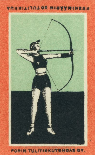finnish matchbox label #vintage #matchbox #matchbooks