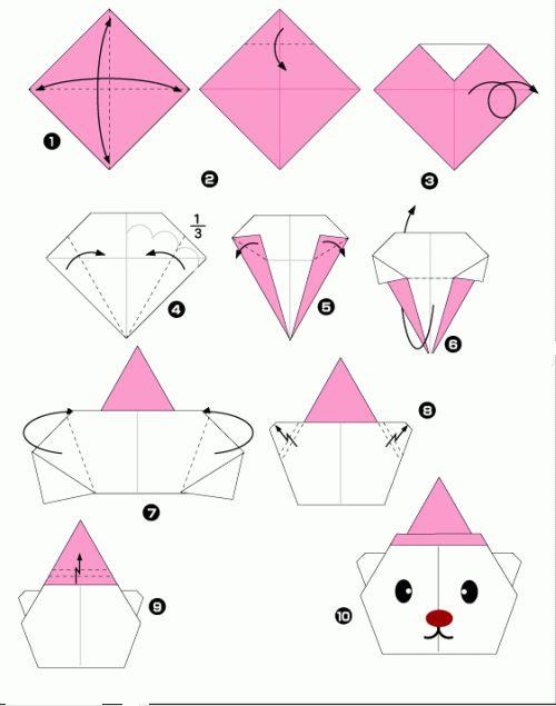 Vouwen оригами Origami Papier Origami En Bricolage