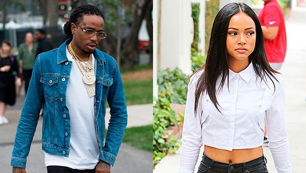 "Could Migos Rapper Quavo Have Just Dumped Karrueche Tran? https://tmbw.news/could-migos-rapper-quavo-have-just-dumped-karrueche-tran  Quavo dropped a serious bomb on his Snapchat that totally fueled rumors he's done with Karrueche Tran! What did his wild message say?Are Quavo and Karrueche Tran over? The 26 year-old Migos member shocked fans when he wrote, ""New B*tch Alert"" on his Snapchat on Saturday, July 8. Rumors flew that he had dumped Karrueche for a stripped named Exotica, according…"