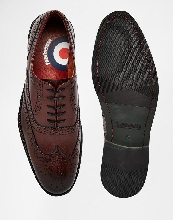 €80.88/€54.41 - UK9 low stock - Image 3 ofLambretta Brogue Shoes