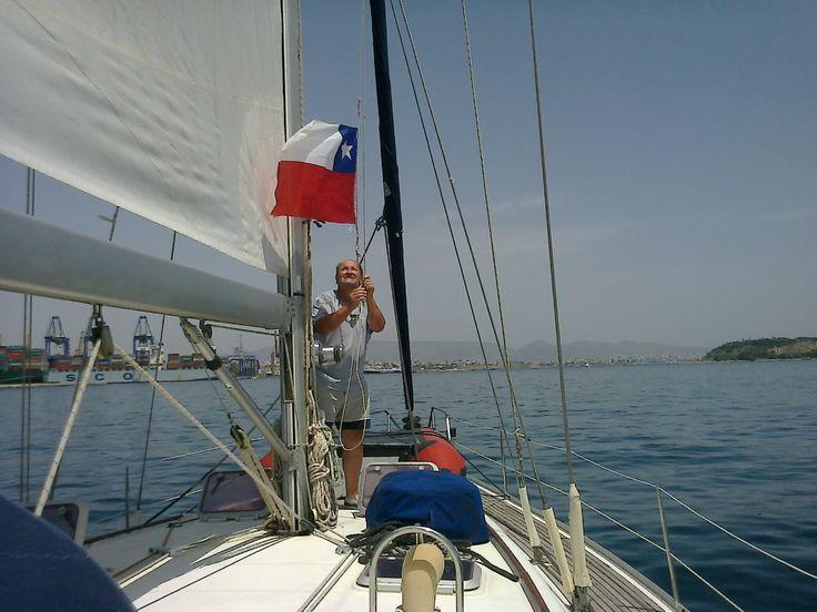 Sergio Minoletti Olivares Navegando por las islas griegas