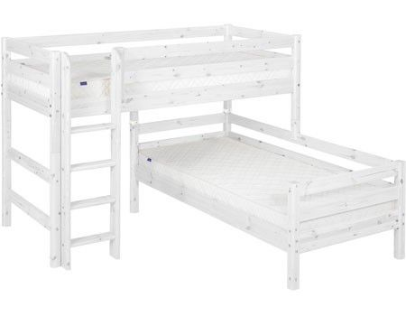 Semi-high bed Classic - Beds - Products FLEXA