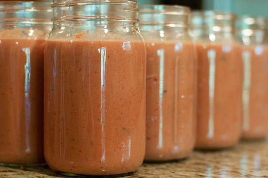 La Madeleine's Tomato Basil Soup Recipe.