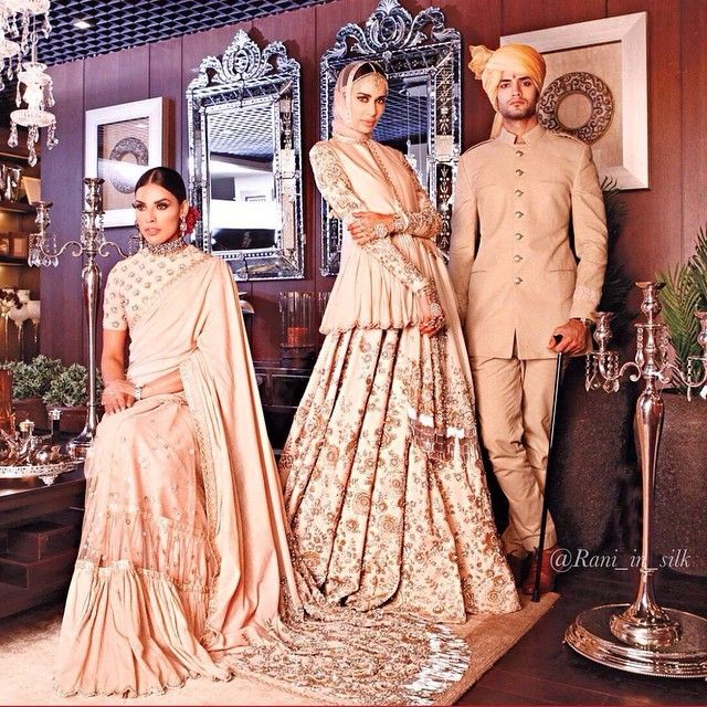 Instagram media by rani_in_silk - Everything about this is beautiful! Wedding inspiration! #sabyasachimukherjee #sabyasachi #sabya #indiandesigner #editorial #adcampaign #bridal #groom #indianbride #indiangroom #indianwedding #sari #saree #lengha #lehenga #turban #candelabra #asianbride #desi #indianjewellery