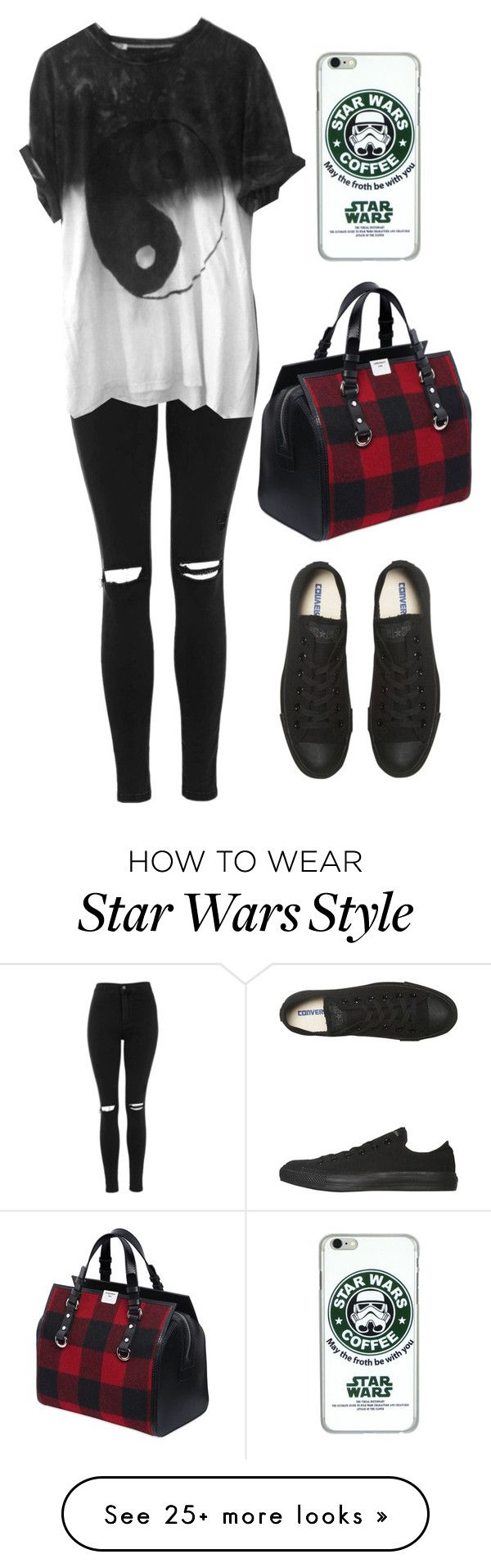 """""""#314"""" by uccelli on Polyvore featuring Topshop, Dsquared2, Converse, women's clothing, women, female, woman, misses and juniors by Veroka1730on pinterest"""