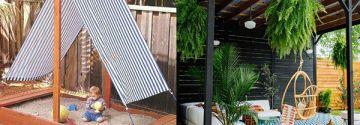 Cet été restez bien protégé avec une belle couverture, terrasse couverte ou pergola dans le jardin!