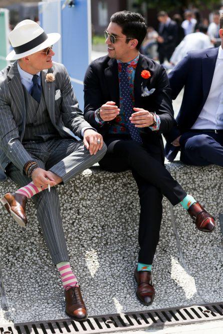 Tendencia colorida en medias. ¡Atrévete Caballero!: