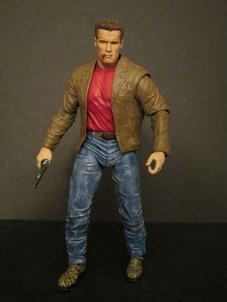 Jack Slater the Last Action Hero NECA (Terminator) Custom Action Figure | Custom Action Figures