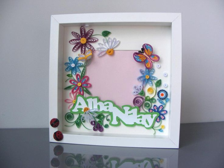 The 78 best Paper Quilled Photo Frame images on Pinterest | Paper ...