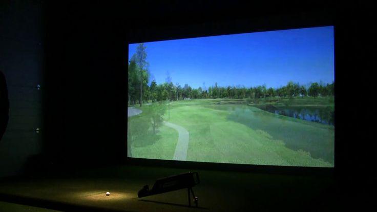 Golf Tech HD Play Golf Simulator