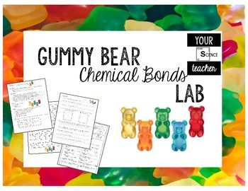 In this lab, students will be expected to distinguish between atoms and molecules and describe the differences between pure substances and mixtures. Students will then make models of ionic and covalent molecules using gummy bears.