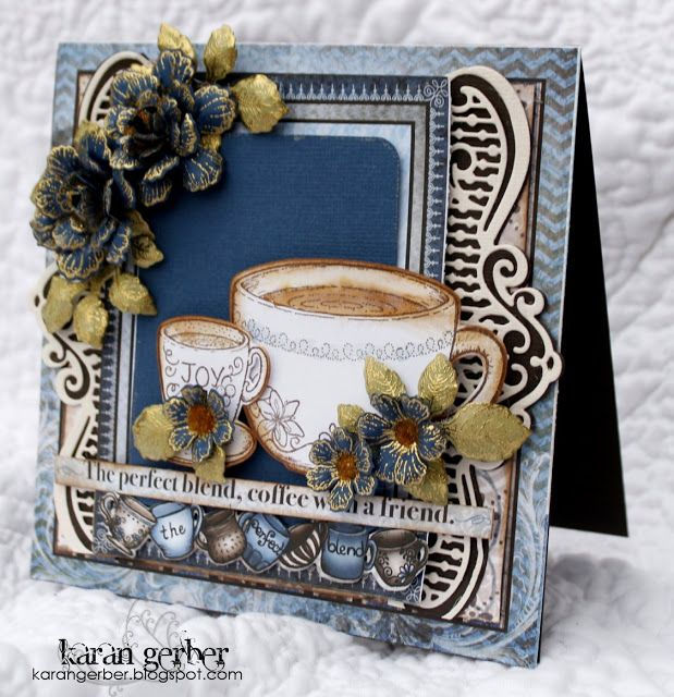 my heart on paper: Coming to My Stamping Studio - 4th March 2016