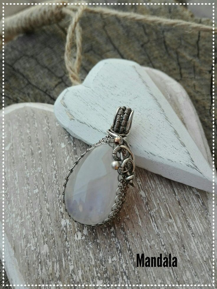 Moonstone silver jewelry by mandala