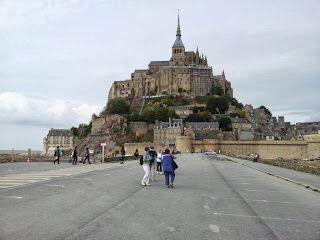 The stunning Mont St Michel