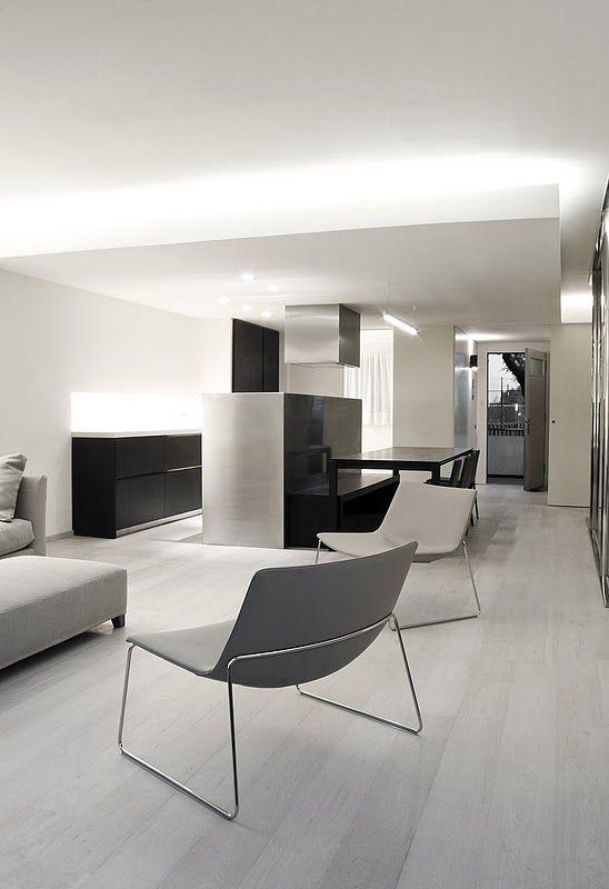 Vivienda In Barcelona By Architect Enrica Mosciaro From Spanish Studio Fusina 6 See The Wood Floor Color