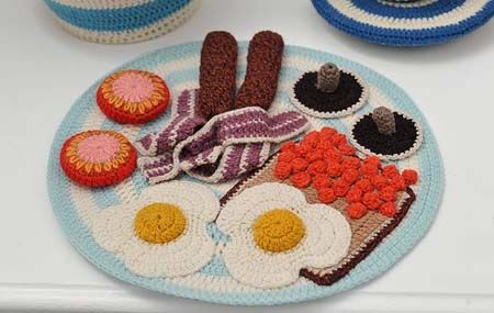 crochet - for kids' kitchen