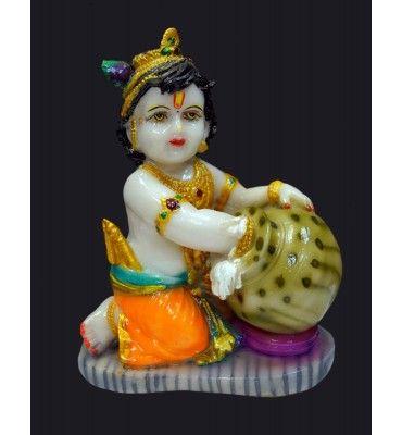 MATKI MAKHAN KRISHNA BIG Buy Online Big Lord Krishna Statue In India at Affordable Price, Wall Hanging Ideas