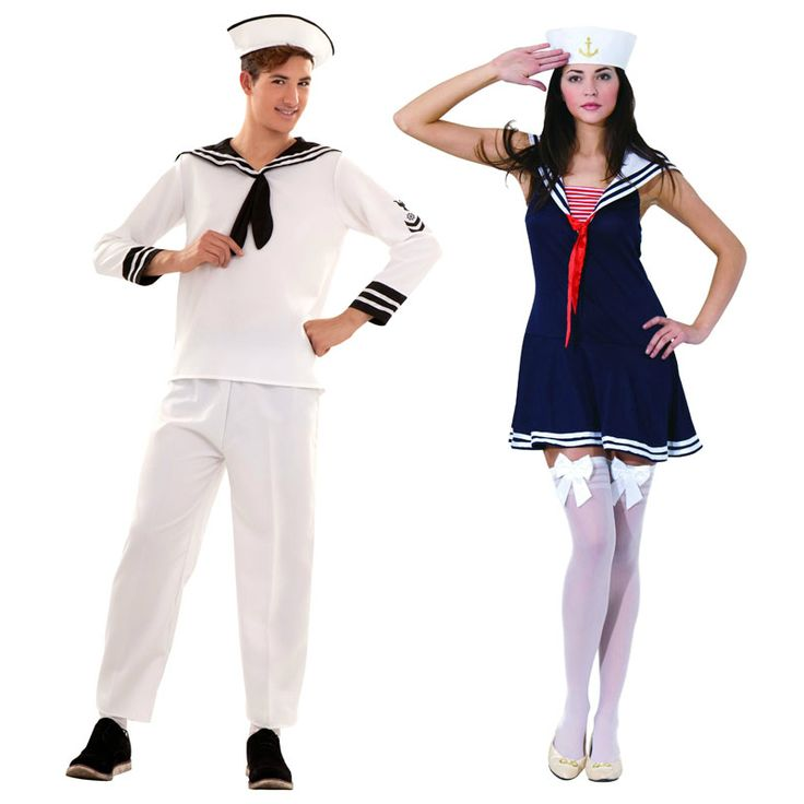 Pareja de Marineros Crucero #parejas #disfraces #carnaval