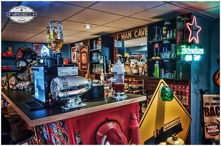 Firefighter Man Cave Bar | Shared by LION