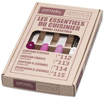 Opinel Primarosa 4 teiliges Messer Set Küchenmesser online bestellen