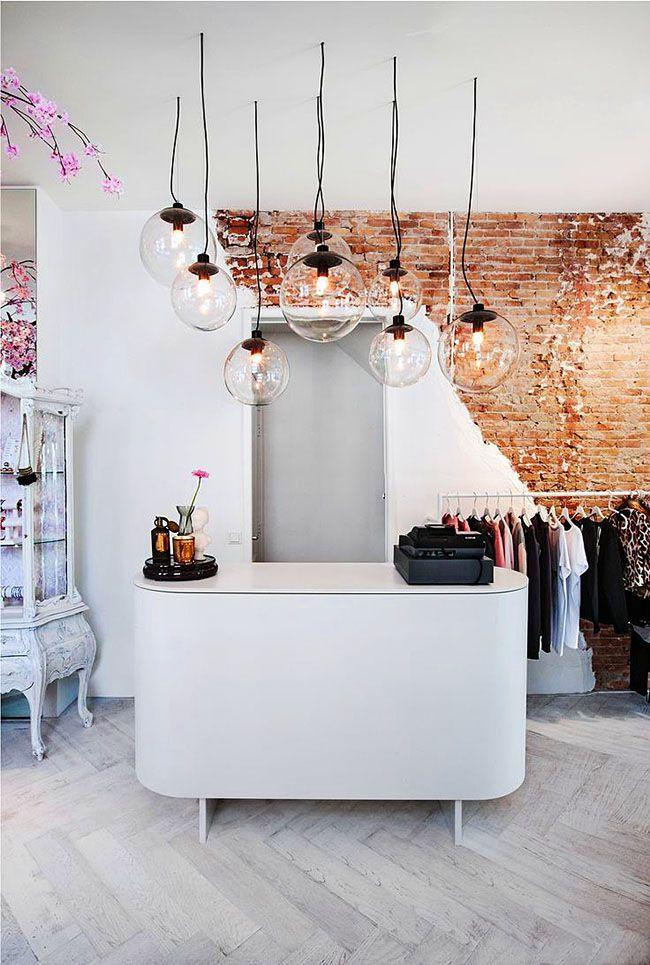 HappyModern.RU | Дизайн магазина женской одежды (82 фото): как создать стильный интерьер | http://happymodern.ru