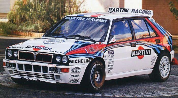 Best looking rally car ever (Lancia Delta Integrale HF Evoluzione Gr
