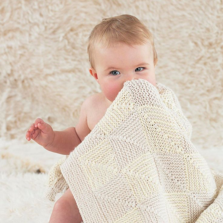 The Sublime Lullaby blanket - knitted in the softest Sublime baby cashmere merino silk dk.