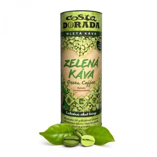 Zelená káva 125g mletá