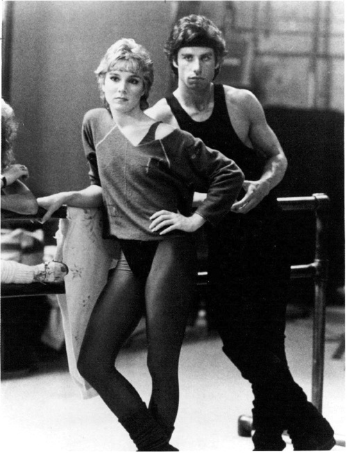 """Stayin' Alive"" (Cynthia Rhodes and John Travolta) I wanted to be Cynthia Rhodes when I was a little girl."