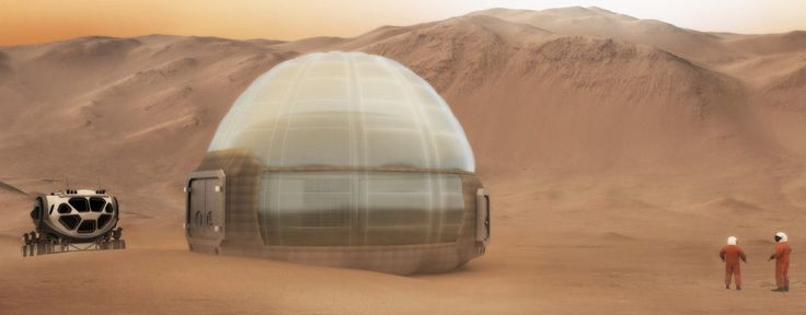 Materials from Mars Ice Home, designed by Clouds AO, SEArch, and NASA's Langley Research Center, will be tested aboard the International Space Station.