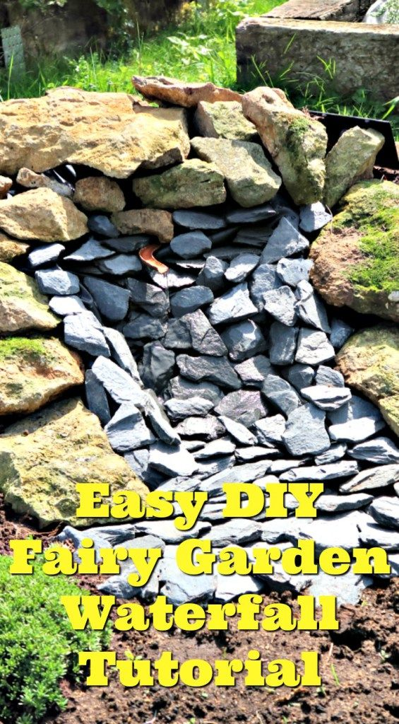 In this easy to follow tutorial we show you how to make a solar powered waterfall for a fairy garden for under £5.00
