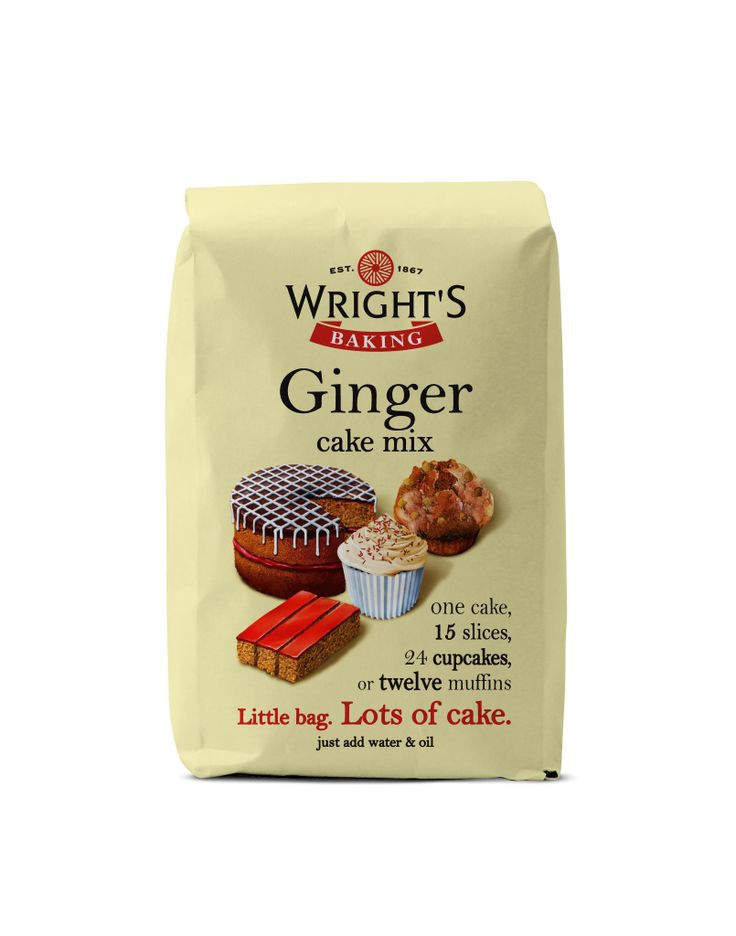 Ginger Cake Es Up Your Life Try Wright S Quick And Simple Mix