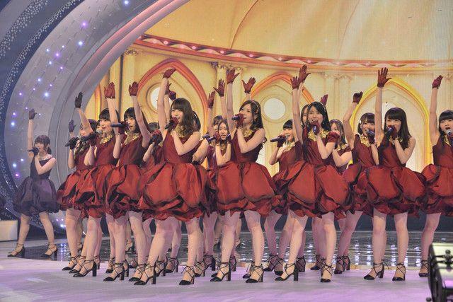 「第67回NHK紅白歌合戦」リハーサル時の乃木坂46。