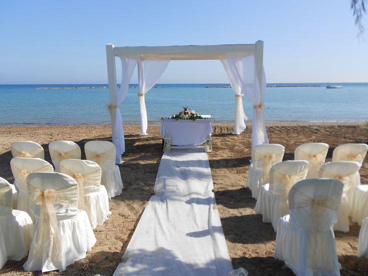 Beach Weddings in Paphos Cyprus and beach wedding ideas presented by www.simplycyprusweddings.com
