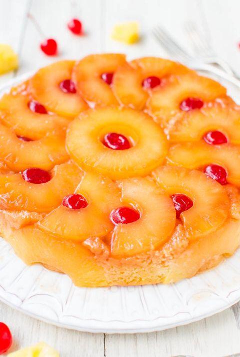 The Best Pineapple Upside Down Cake Happy Pineapple