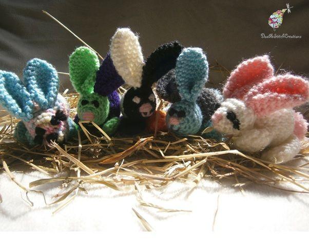Crochet Bunny - Handmade to order  #crochet #bunny