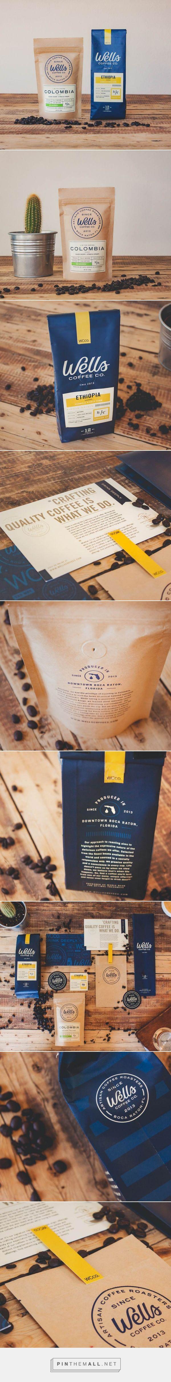 Wells Coffee Packaging Design                                                                                                                                                     More