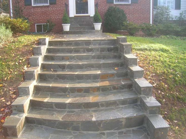 Captivating Images Of Flagstone Stairs   Find With Google