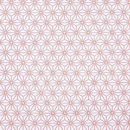 Estampado geométrico bronze e branco perfeito para combinações decorativas diferentes e arrojadas. Ideal para almofadas e trabalhos manuais.