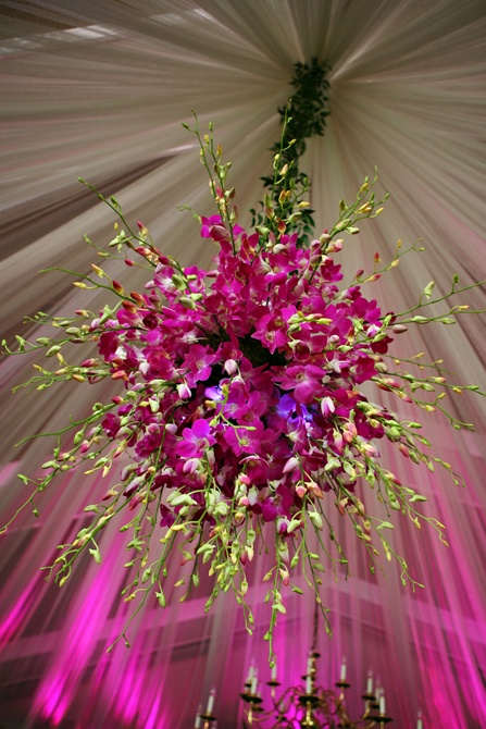 harveydesigns.com Floral Chandelier | Via `LadyLuxury~