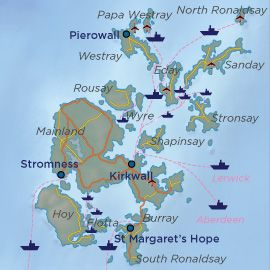 this link has information about the Orkney Islands and tourist information.
