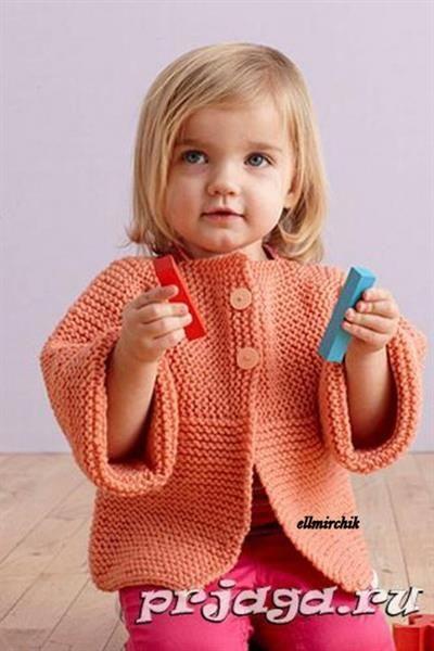 Детские вязаные свитера до 1 годика для девочки