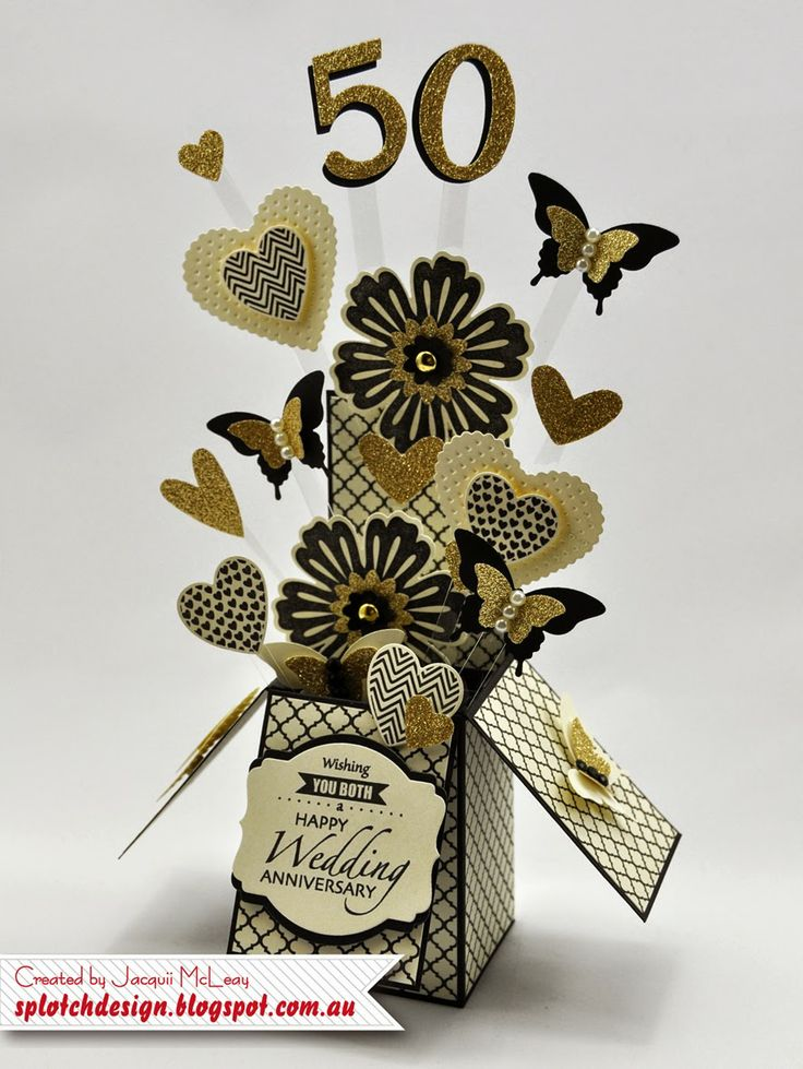 Splotch Design - Jacquii McLeay Independent Stampin' Up! Demonstrator: Card in a Box