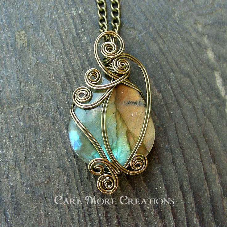 17 best Wire Wrapping images on Pinterest | Wire jewelry, Wire ...