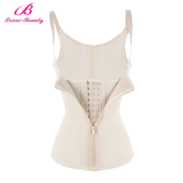 Lover Beauty Fajas Cinturilla Waist Trainer Vest Latex Corset Slimming Chest Binder Waist Trainers Hot Shapers Waist Shapewear