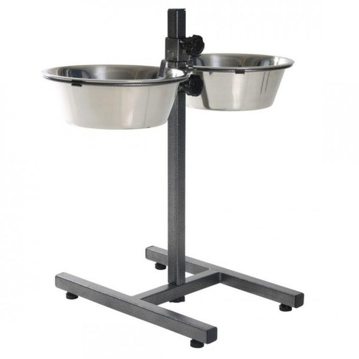 Стойка-кормушка для собак Росмаркет металл 0,35 л